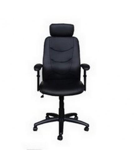 Grand confort, excellent support lombaire pour ce fauteuil simple mais de qualité, mécanisme basculant. A prix mini.