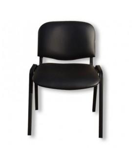 Chaise 4 pieds empilable pour réunion, visiteurs, collectivités.