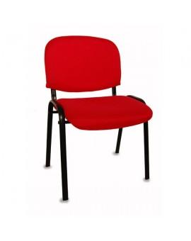 Chaise visiteur, réunion empilable. Pratique, confortable.