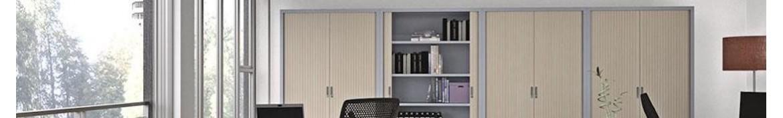 Armoire métallique portes battantes ou pliantes | Allée du Bureau