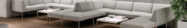 Canapé d'accueil ou pour salle d'attente | Allée du Bureau